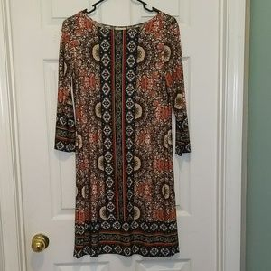 Haani printed dress  Sz S NWOT